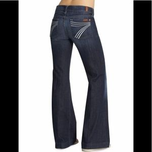 7 for all mankind Size 30 Dojo Flare Jeans
